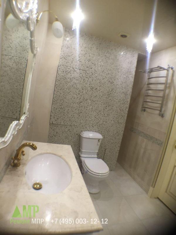 Установка санфаянса в ванной